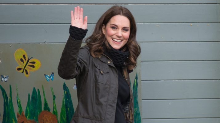 Photo Credit Must Read Zak Hussein Catherine, the Duchess of Cambridge visits Robin Hood Primary School   Ref: SPL1630565  291117   Picture by: Zak Hussein